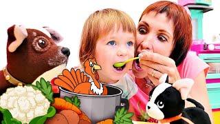 Суп для Бьянки. Бьянка и Маша Капуки встретили щенка - Привет, Бьянка!