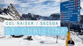 GRÖDEN / VAL GARDENA ::: Dolomiti Superski ::: Col Raiser & Seceda ::: 10,5 km la Longa ::: 1-2019