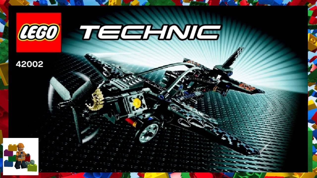 LEGO instructions - Technic - 42002 - Propel Plane - YouTube
