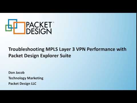 Troubleshooting MPLS Layer 3 VPN Performance with Packet