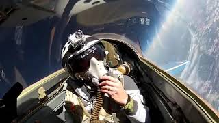 Traveling in the stratosphere on a Mig-29