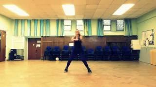 Warm up Zumba ''How deep is your love'' by Calvin Harris&Disciples