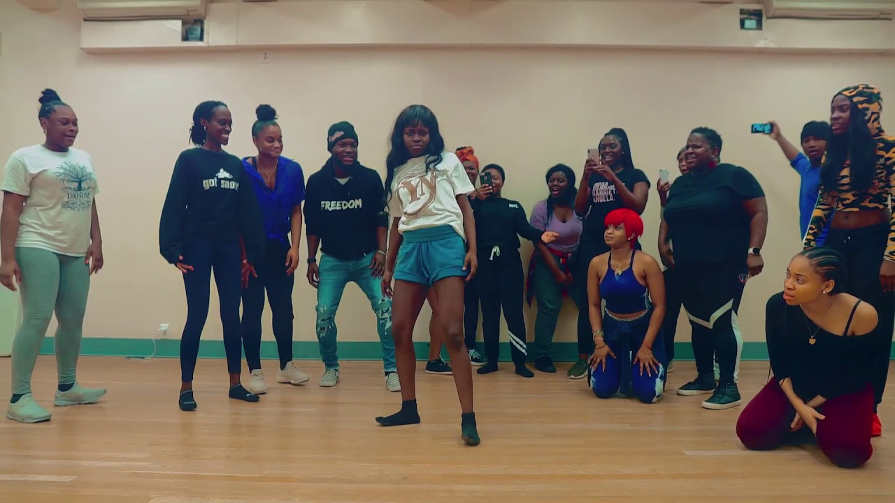 Manger Chier Official dance class video - Nigerianjawn
