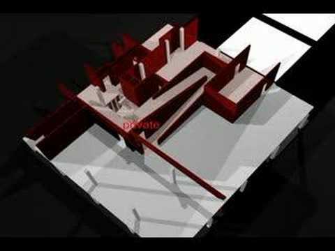 digital visualisation: villa savoye - YouTube