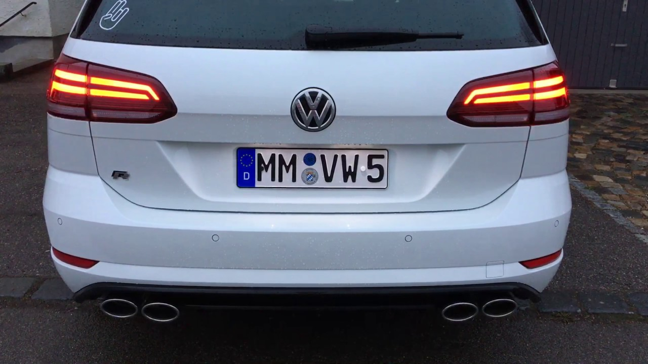 golf 7 r facelift variant rear lights youtube. Black Bedroom Furniture Sets. Home Design Ideas