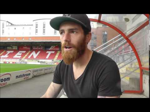 Romain Vincelot ahead of Walsall game