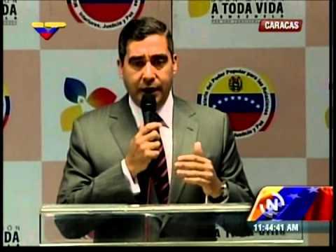 Rueda de prensa de Miguel Rodríguez Torres sobre el alcalde de Valencia, Edgardo Parra