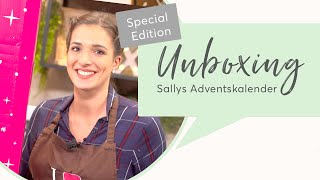 brandnooz UNBOXING Sallys Adventskalender: Preview mit Sallys Welt