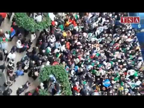 Alger,imposante Mobilisation Pour La 1e Journée Du Hirak Après La Présidentielle