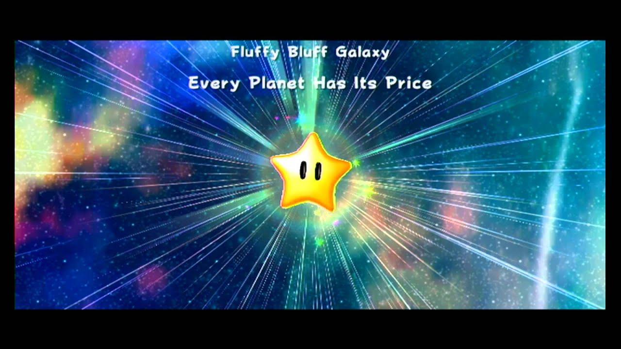 Super Mario Galaxy 2 (Part 10) Fluffy Bluff Hidden Star ...
