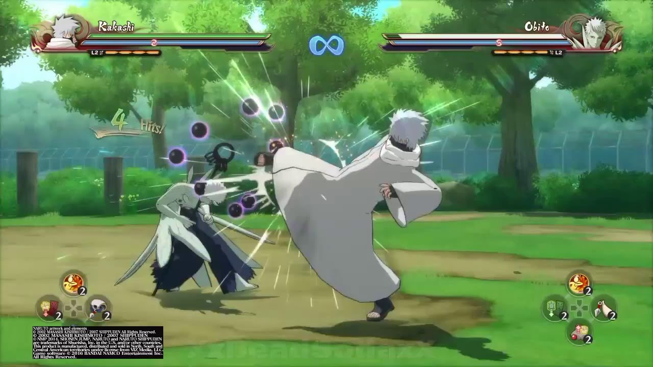 Naruto Shippuden Ultimate Ninja Storm 4 Kakashi HatakeHokage CostumeAll Moves And Awakening