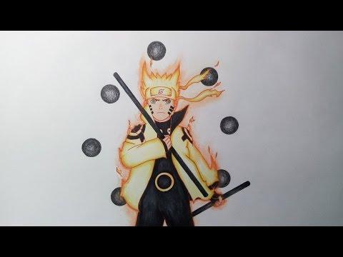 How to Draw Sasuke | Naruto