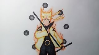 Drawing Naruto Sage of The Six Paths