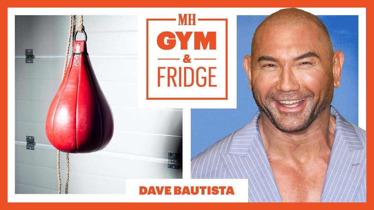 Dave Bautista Shows Off His Home Gym And Fridge   Gym & Fridge   Men's Health