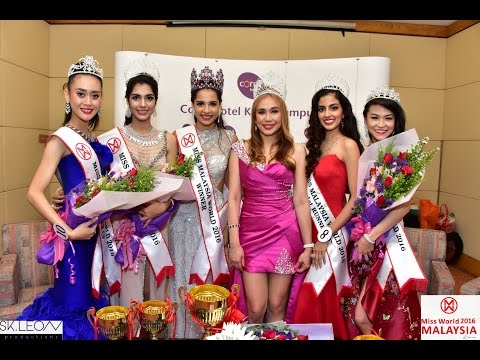 Miss Malaysia World 2016 Crowing Moment & Talent Show