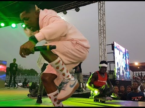 Check Out Small Doctor Mind Blowing Performance At Agege That Got People Talking
