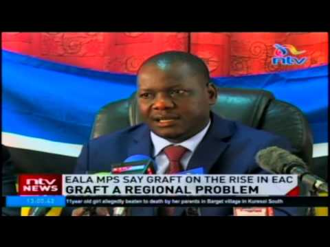 EALA MPs say graft on the rise in EAC