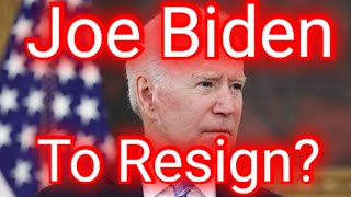 Joe Biden will 'resign from office for medical issues' | Talking Points