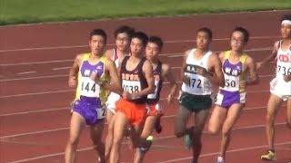 群馬県高校対抗陸上2017 男子1部5000m決勝