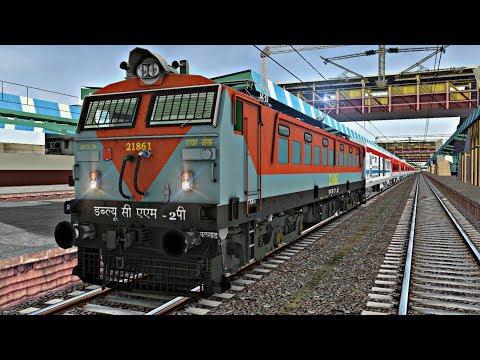 Mumbai Rajdhani || BL WCAM - 2P || Mumbai Central To Borivali Short Journey || 40th Brday Special