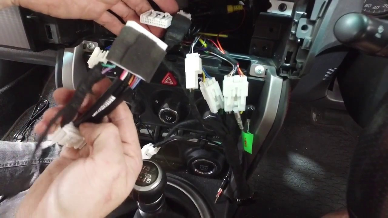 How To Install a Kenwood DDX917WS in Toyota 86 - Plug & Play Kenwood Dmx S Wiring Harness Diagram on