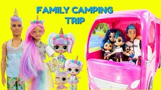 LOL Unicorn Family Punk Boi Family Camping Trip
