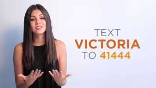Victoria Justice Supports The Trevor Project #SuicidePreventionMonth
