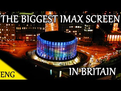 THE LARGEST IMAX CINEMA SCREEN IN BRITAIN !!! IT