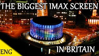 THE LARGEST IMAX CINEMA SCREEN IN BRITAIN !!! IT'S HUGE | Random vlog | Eng