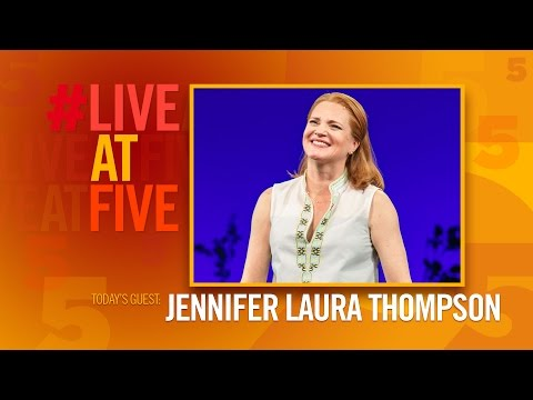 Broadway.com #LiveatFive with Jennifer Laura Thompson of DEAR EVAN HANSEN