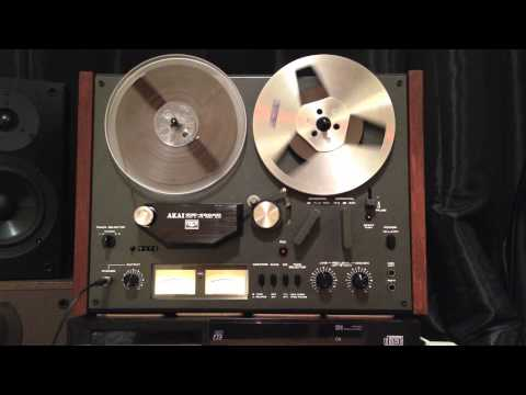Akai GX-4000D Reel to Reel plays Pachanga Boys - 'Time' (Jaytech Music)