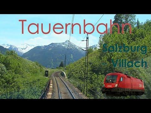 Amazing Views - Cabride On Tauern Railway, Austria | Führerstandsmitfahrt Tauernbahn ÖBB Taurus