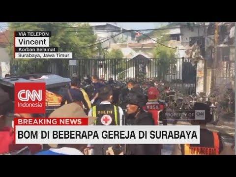 Kesaksian Korban Selamat Bom Bunuh Diri di Surabaya