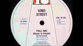52nd Street - Tell Me (Extended Vers.)