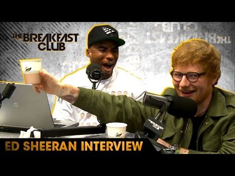 Ed Sheeran Goes Shot For Shot With The Breakfast Club, Raps