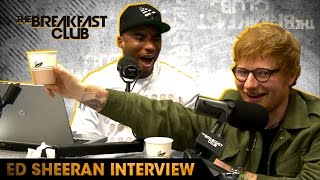 Ed Sheeran Goes Shot For Shot With The Breakfast Club Raps To Nicki Minaj &amp More