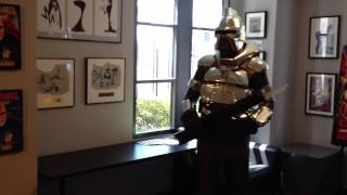 Cylon at Sony Studios with Glen Larson