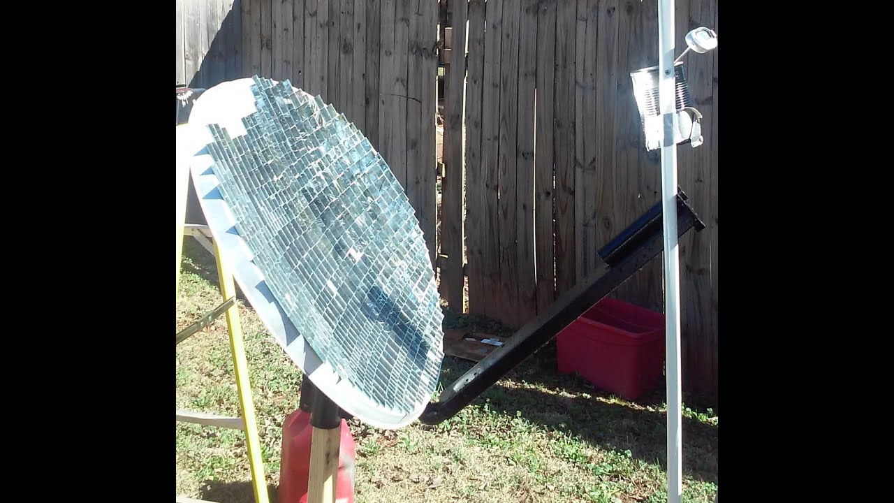 Best Diy Solar Power Pool Heater Part 3 Parabolic