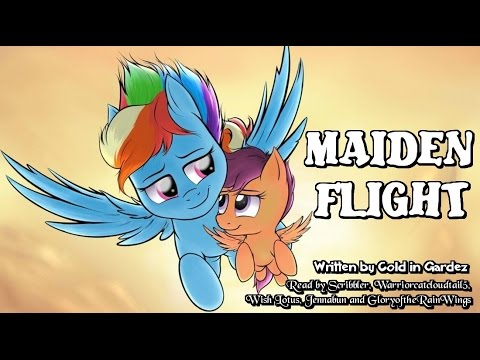 Pony Tales [MLP Fanfic Readings] Maiden Flight (slice-of-life/comedy)