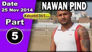 Nawan Pind Tapprian (Nawanshahr) Kabaddi Tournament 28 Sep 2014 Part 5  By Kabaddi365.com