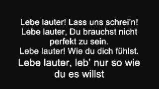 Christina Stürmer - Lebe Lauter (Lyrics & English Translation)