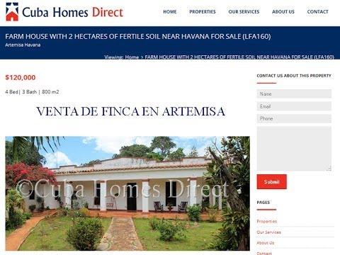 Finca en venta en artemisa de 2 hectareas por cuba homes for Casas en la finca