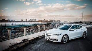 Acura TLX тест-драйв, трейлер.