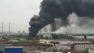 Пожар в Москве начали тушить!