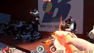 обзор сервера в Team Fortess 2