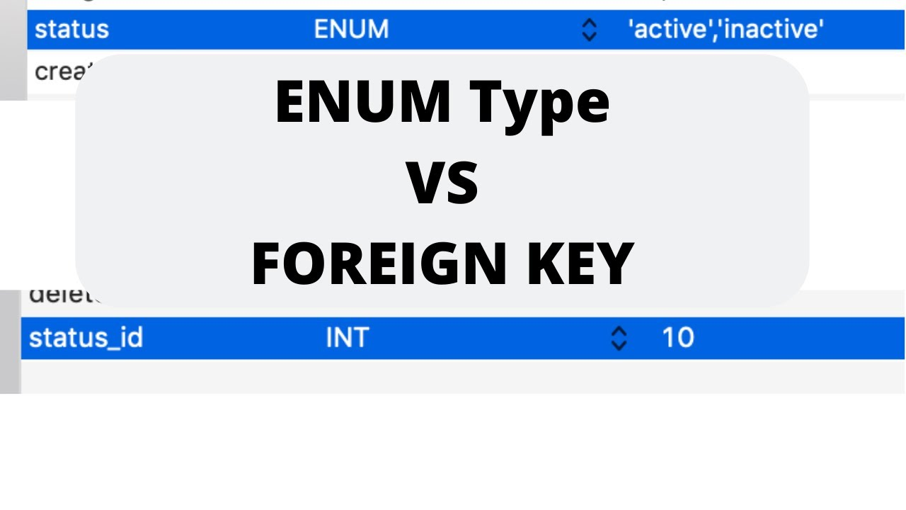 Download Laravel: ENUM or INT with Foreign Key?