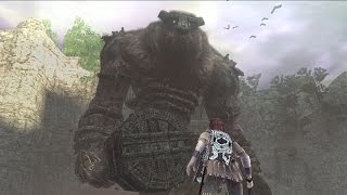 Shadow of the Colossus: Valus Boss Fight - 1st Colossus (PS3 1080p)