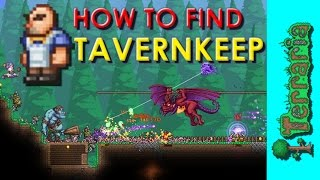 Terraria 1.3.4 - How To Find Tavernkeep NPC + Old One's Army Event Guide!