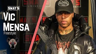Vic Mensa Freestyles on Sway In The Morning and Kills It