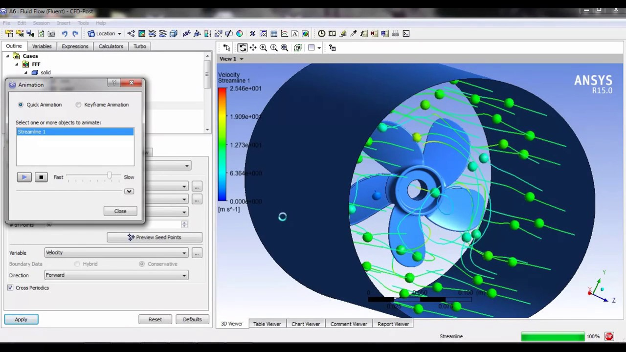 Propeller Simulation In Ansys Fluent Ansys Online